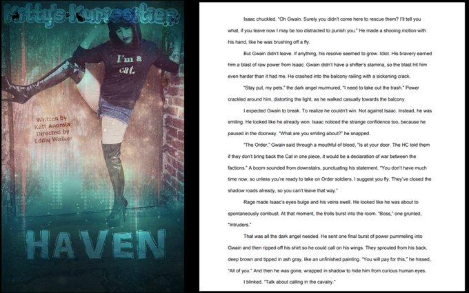 Ahhhh, one more week until the next installment of Haven is released! =D  #bdsm #bondage #fetish #kinky
