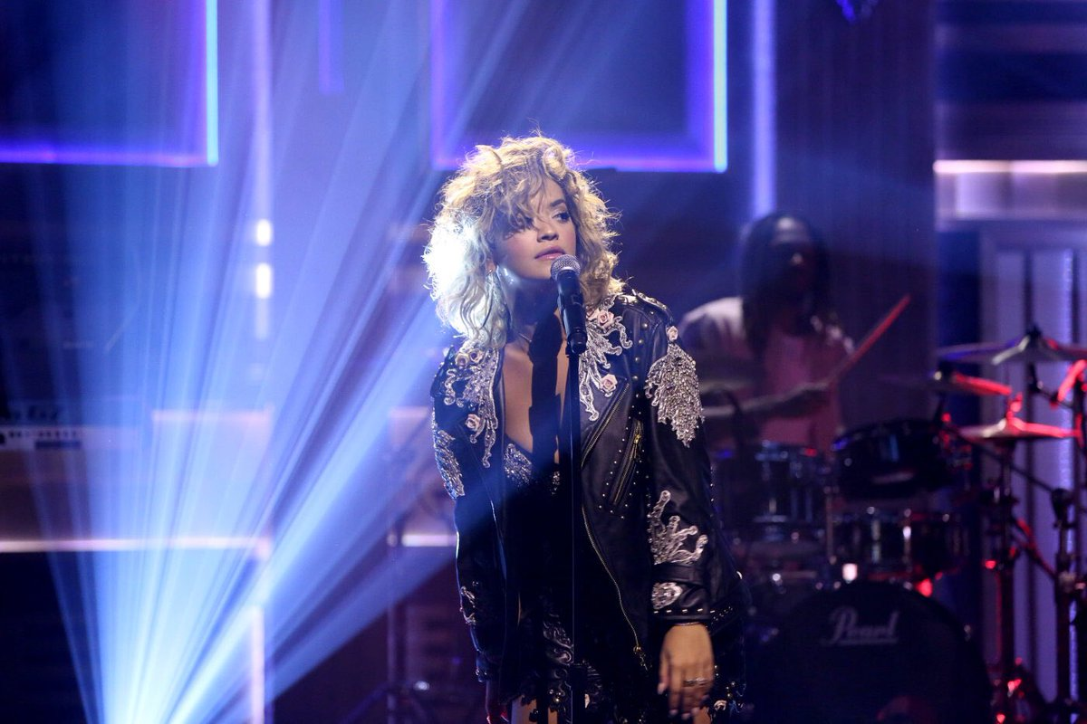 East coast! @FallonTonight starts now!! I'm performing #YourSong in a few!! ????????♀️❤️ https://t.co/s9gF0m2d39