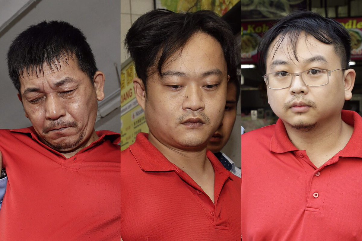 Taiwanese scam suspects taken to scenes of alleged crime