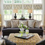 Wingback chairs warm up every room