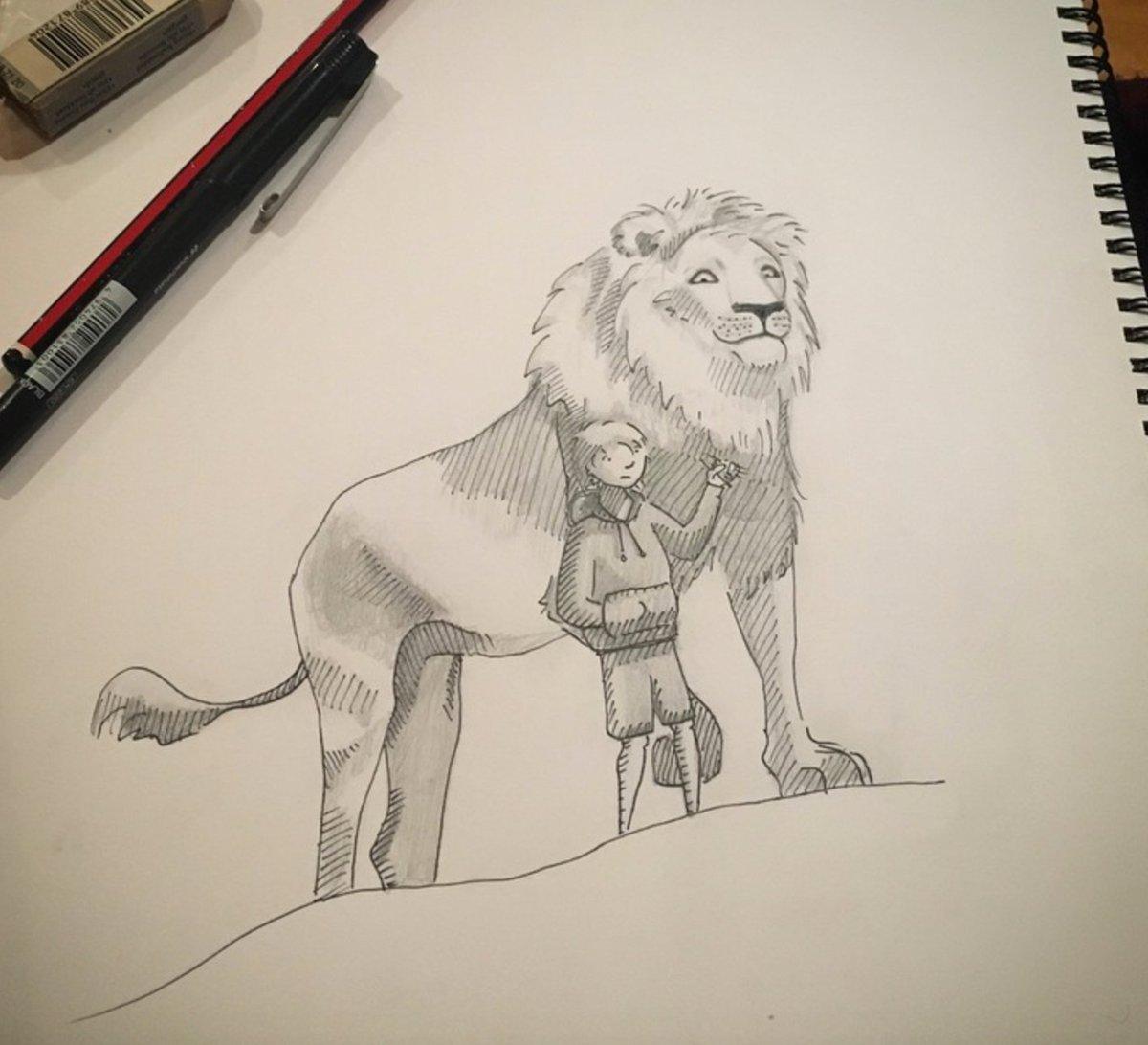Boy + Lion  https://t.co/sZWqAlh3HQ https://t.co/EjACkM49zO