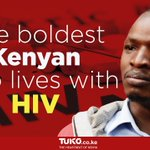 Meet Kimutai Kemboi, the boldest Kenyan living with HIV