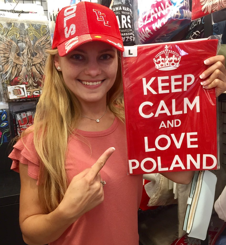 RT @realTanyaTay: Keep Calm and Love Poland 🇵🇱 #SlavRight https://t.co/sMTrbQP5KB