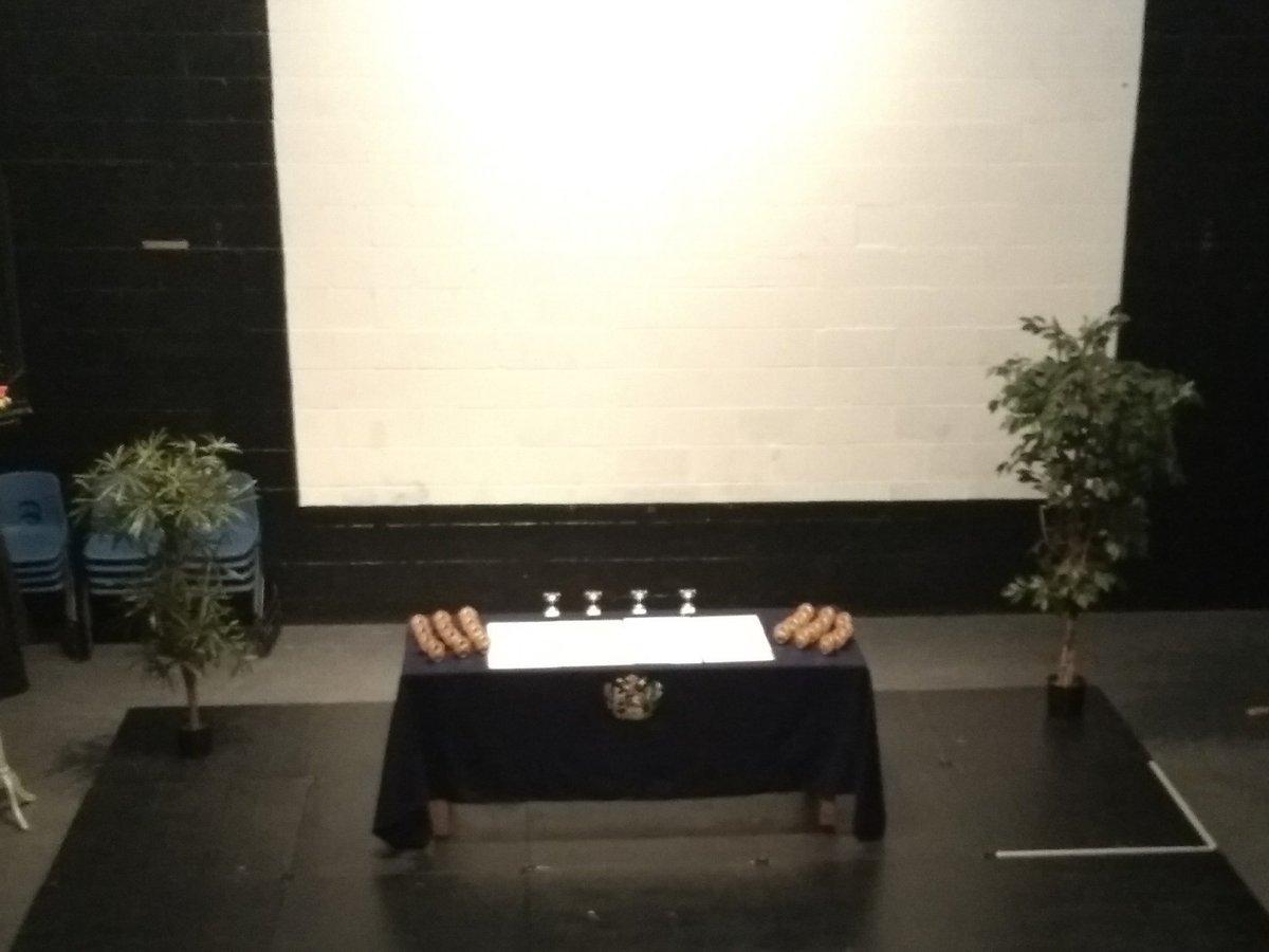 test Twitter Media - RT @cartertonhead: Drama studio ready to go for today's awards ceremonies https://t.co/2PRbjv7t85