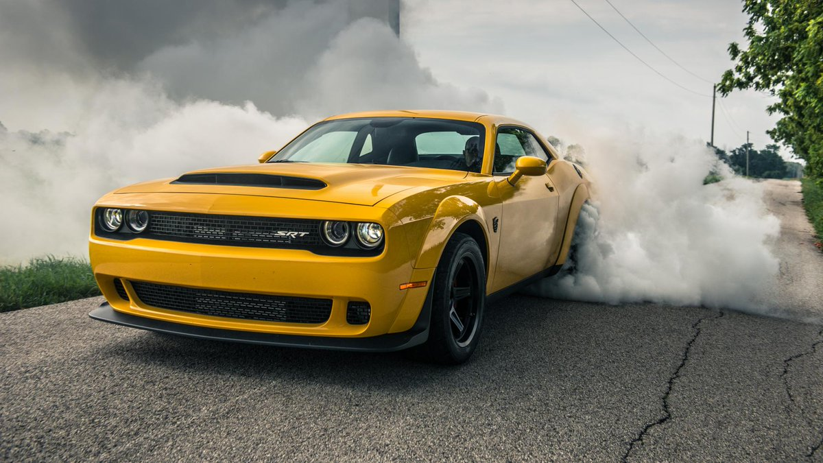 The world\'s fastest accelerating production car tested dodge ...