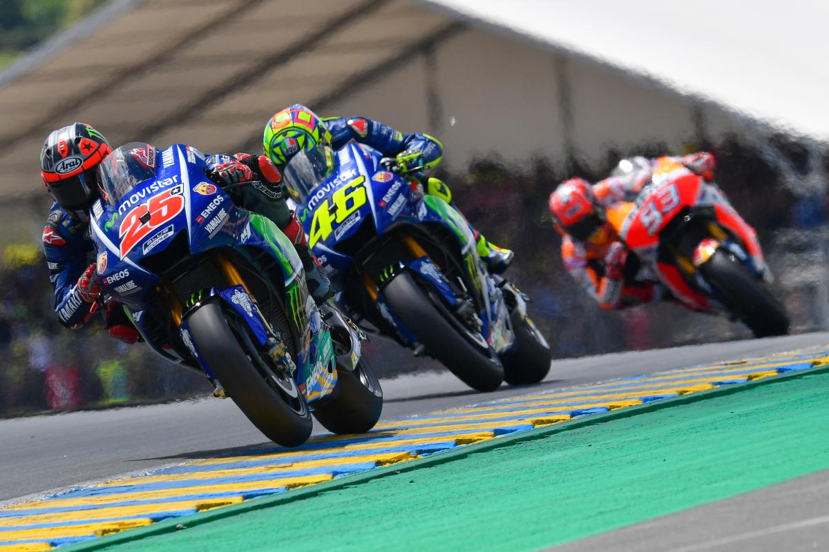 test Twitter Media - GP Recap: Viñales wins last lap thriller in Le Mans  All the best #FrenchGP Videos 🎥 https://t.co/xXEg4aGOxX https://t.co/3cztsk0QBB