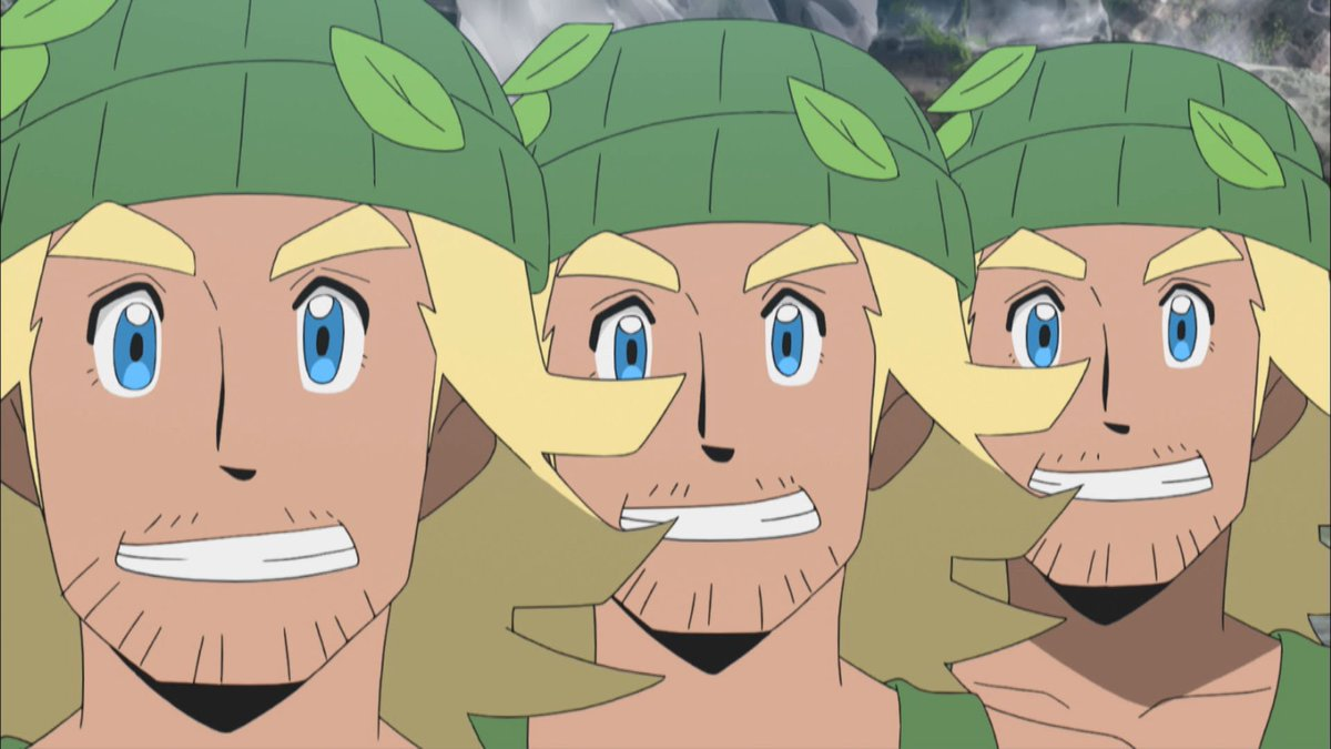 RT @Pokemon_cojp: さらに、明日のアニメ放送にはあの男たちも登場する……!?...