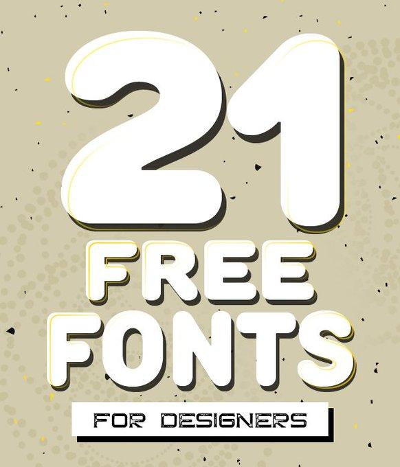 Download Free Fonts  Link: freefonts freebies