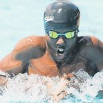 Swimmers start chase for medals