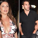 Kelly Brook looks stunning in a plunging maxi dress on a night out during her 'ultimate road trip' through France with boyfriend Jeremy Parisi