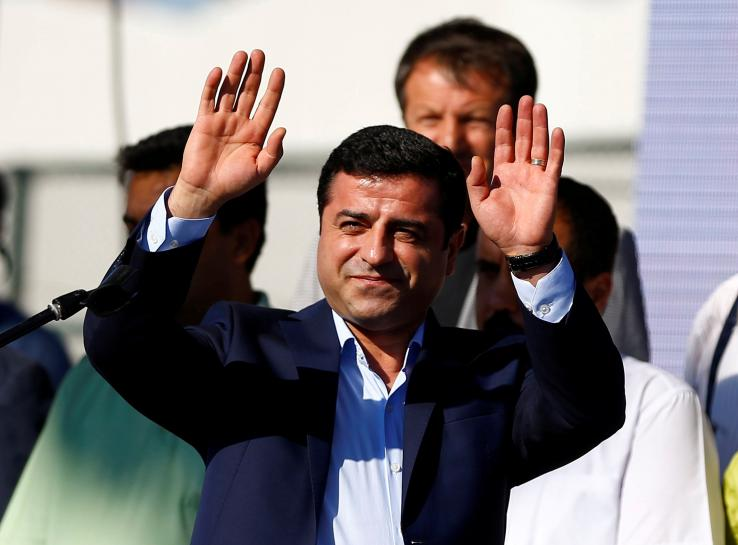 Jailed pro-Kurdish leader says fair trial impossible in Erdogan's Turkey