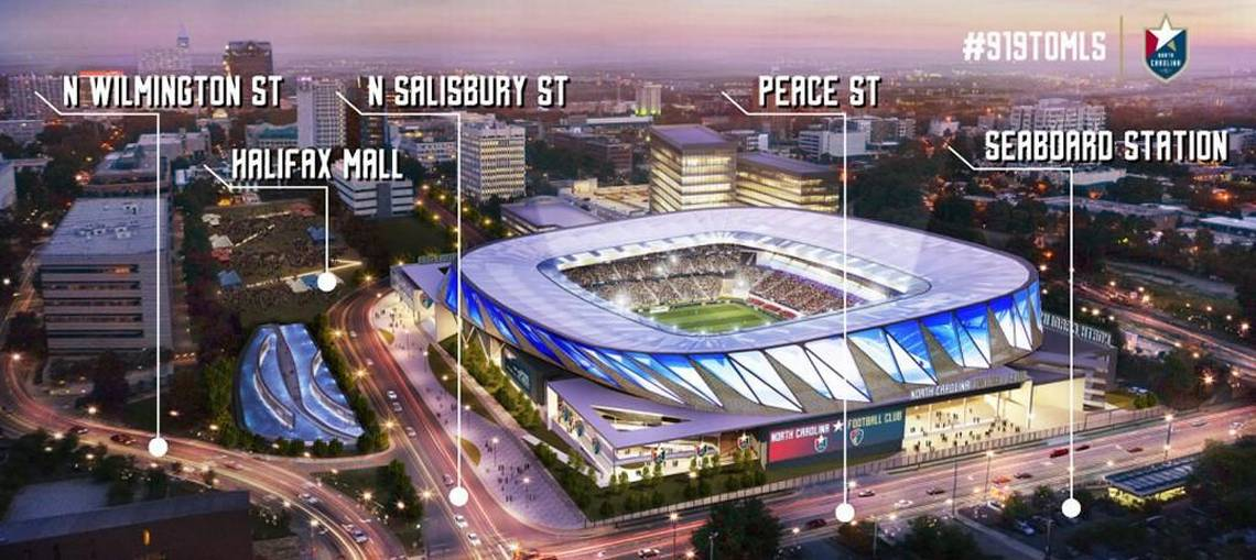 Can this stadium lure a professional soccer team to downtown Raleigh?