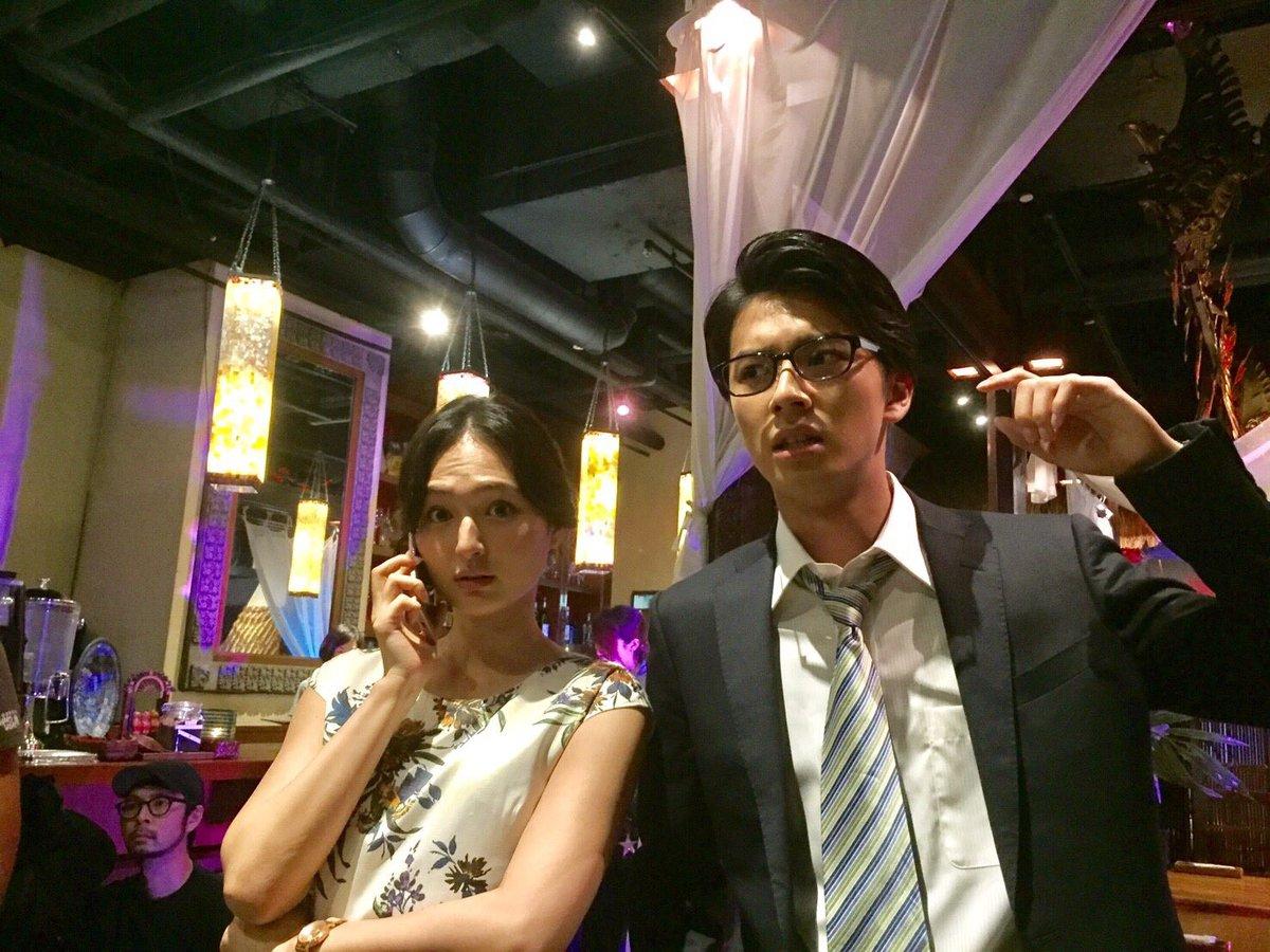 #あいの結婚相談所 で働く個性豊かな面々にもご注目✨👀真壁男夢( #中尾暢樹 )と橘シャーロット麻理子( #山賀琴子 )