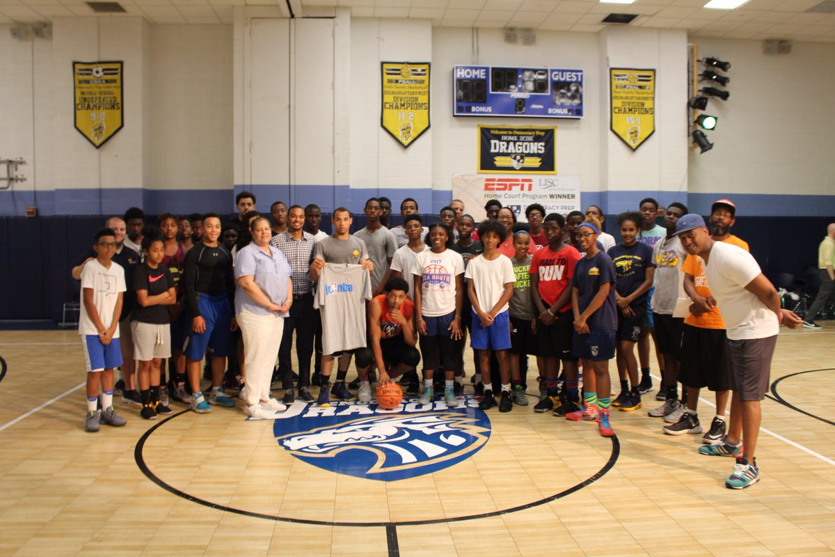 test Twitter Media - And thank you @NBA for providing equipment that our scholars quickly put to use in their new gym! #FutureStars #DPPSSports https://t.co/yKNt9Be4b5