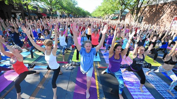Over 2,500 Expected For LaSalle Road Yoga