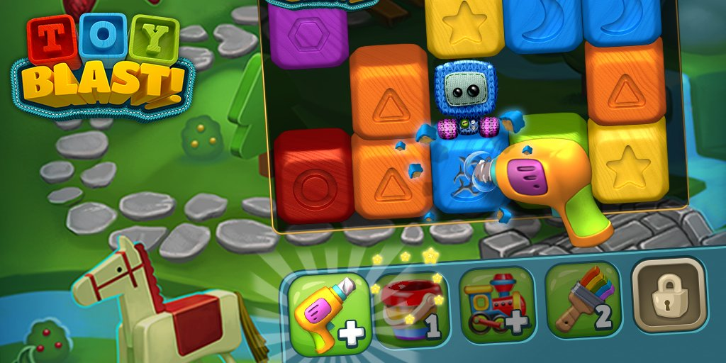 Toy Blast Saga Game Free : Toy blast twitter gamescoops