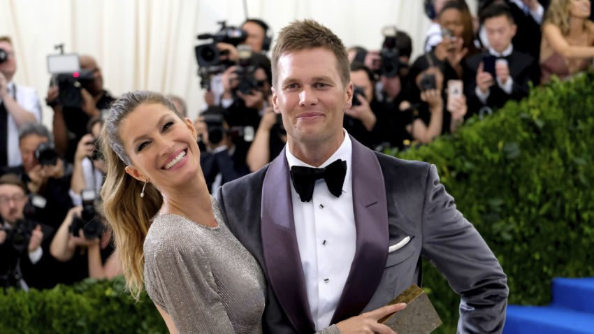 Tom Brady was named to Sports Illustrated's list of most fashionable athletes