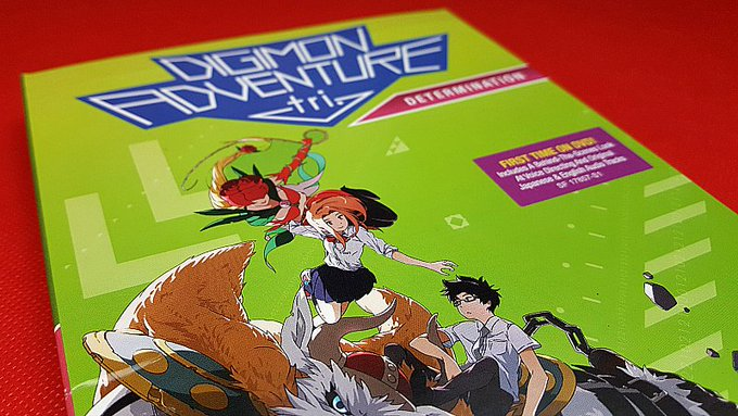 Giveaway – Digimon Adventure Tri Determination DVD – 5 Winners – Ends 8/15/17