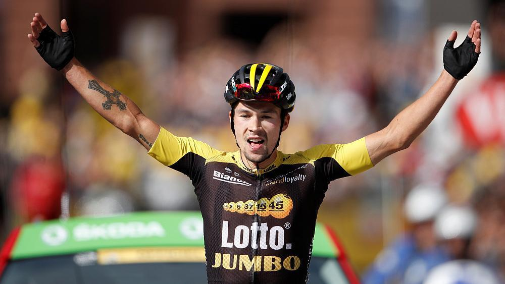Primoz Roglic makes Tour de France history