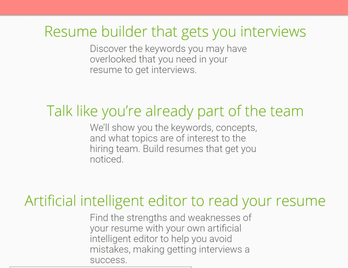 best resume to get hired