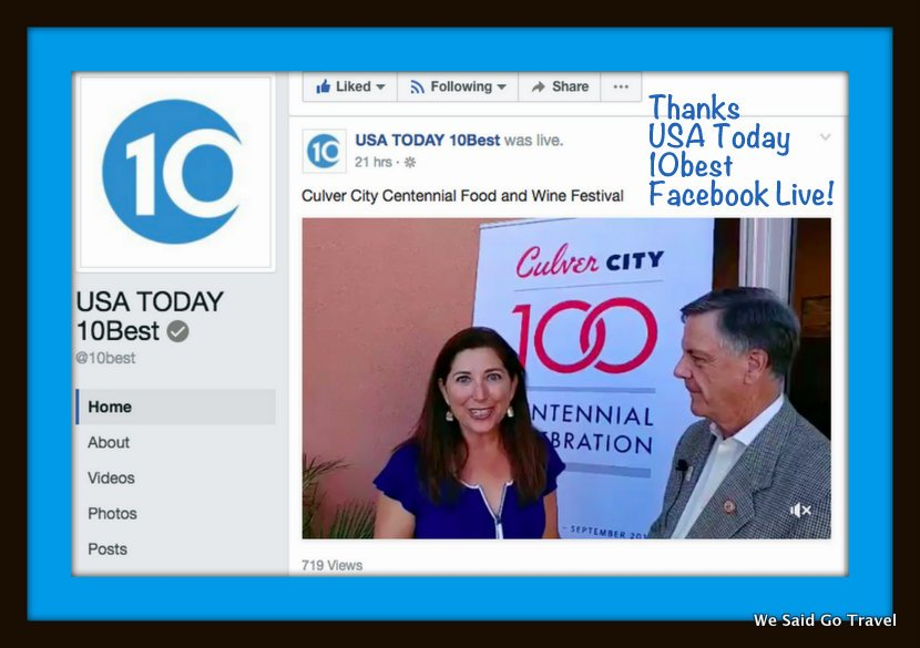 test Twitter Media - Thank you @USAToday @10best! I loved doing a #Facebook #Live for you in #CulverCity! (& @RitzCarlton #LakeTahoe!) https://t.co/TyZFBCyrZE https://t.co/LVZwxhaIgz