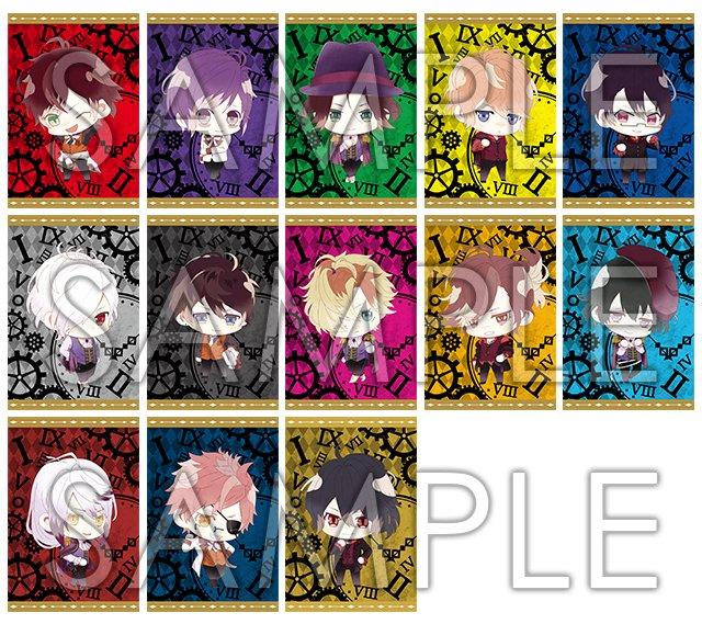 【ノベルティ情報】7月21日(金)より「DIABOLIK LOVERS けいおすりねーじゅポストカード」を配布開始!!同