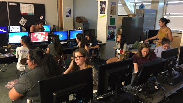 Cyber security summer camp looks to spark interest, fill jobs
