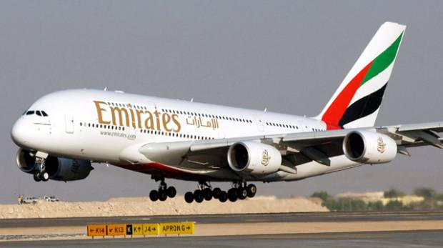 Emirates plane from Dubai nearly collides with Air Seychelles