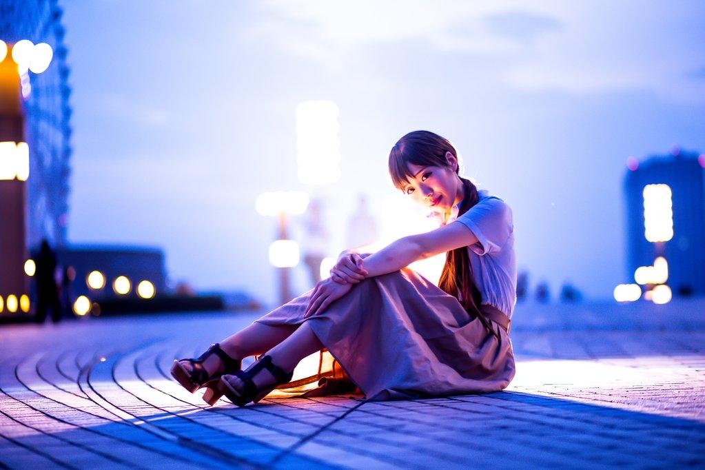 最後のレジャランにて撮って頂いた美波さん!新田美波(私服)/THE IDOLM CINDERELLA GIRLSphot