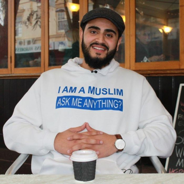 I'm a Muslim, ask me anything: Perth Imam Kamran Tahir tackling Islamophobia over coffee