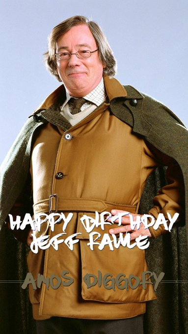 Happy Birthday, Jeff Rawle! He played Amos Diggory in Harry Potter and the Goblet of Fire.
