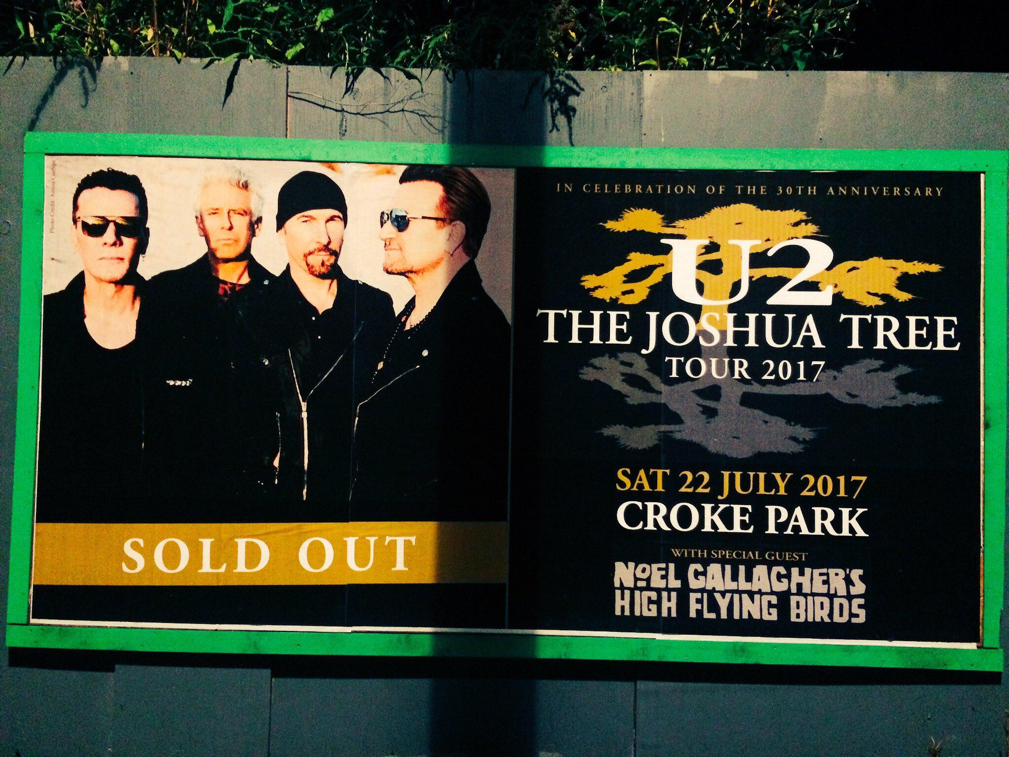 J-2 #U2 #U2TheJoshuaTree2017  #U2JoshuaTreeTour2017 #U2Dublin https://t.co/4d50xWeLch