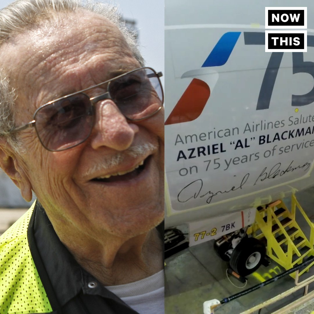American Airlines Honored This 75 Year Employee With A Pretty Cool Gift