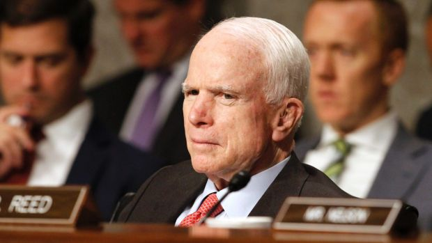 Republican Senator John McCain diagnosed with brain cancer
