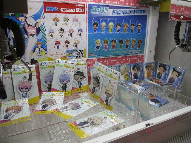 【ミニクレ情報】ついに!!立川店にも!!ミニクレーンゲーム機が導入されましたうど!!現在の作品ラインナップは「A3!」「