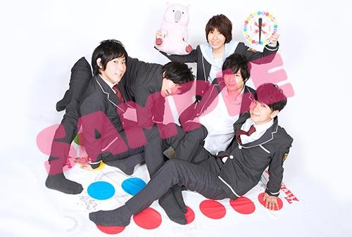 8月18日発売「美男高校地球防衛部LOVE!LOVE!ALL STAR!」BD&DVDアニメイト特典が『大判ブロマイド(