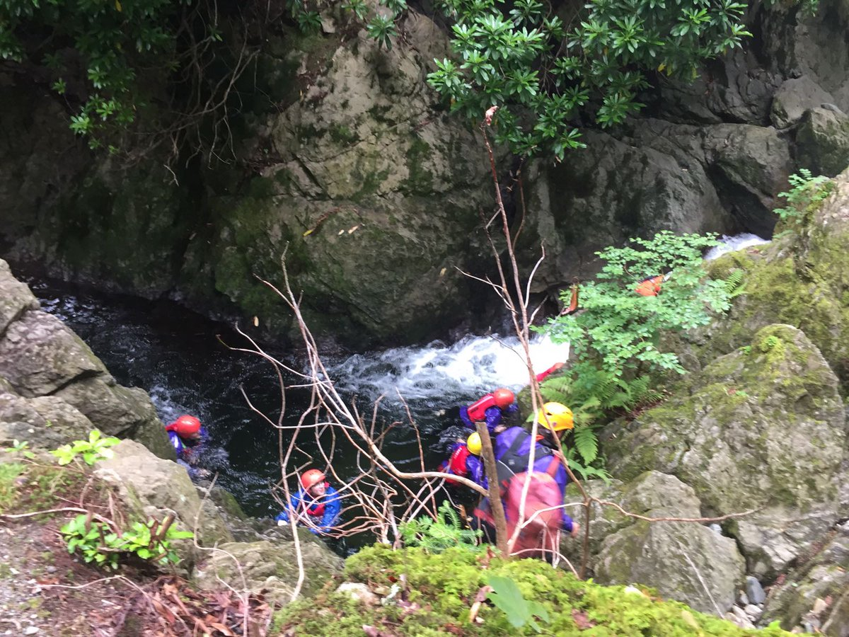 test Twitter Media - Gorge Walking in patterdale. Water was cold but having a great time. #patterdale17 https://t.co/aZHhgIJ5R1