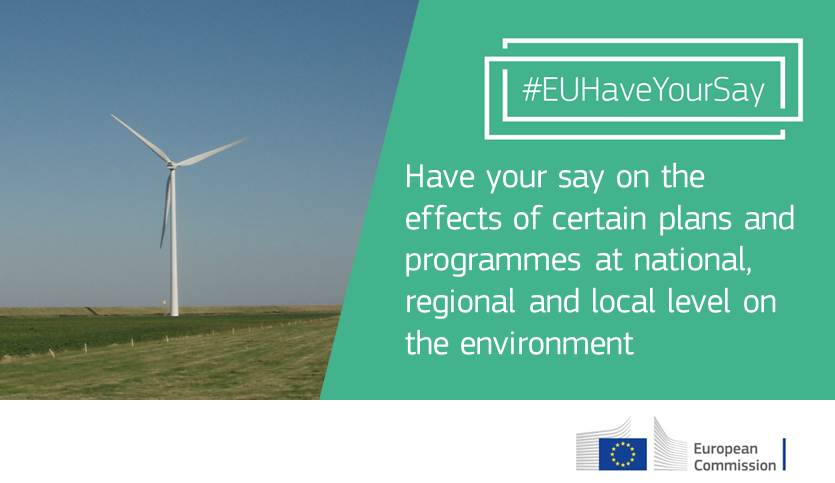 test Twitter Media - Strategic Environmental Assessment is one way to ensure sustainable development | #EUHaveYourSay by 8 August https://t.co/ajlRVmqDwT https://t.co/7BVzE8HrCt