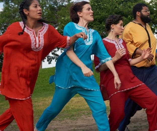 Art Hounds: Algerian folk tales come to life in 'Sunrise at Midnight'