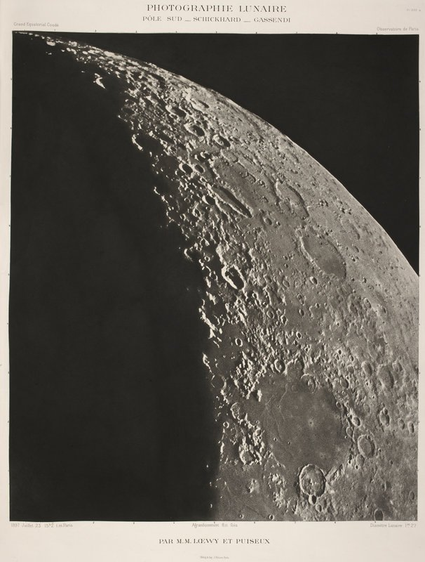 test Twitter Media - Armstrong and Aldrin landed on the moon #onthisday in 1969. This photo of the moon was taken in July 1897 (14001.s.3) #MoonDay https://t.co/1VDeVCQctS