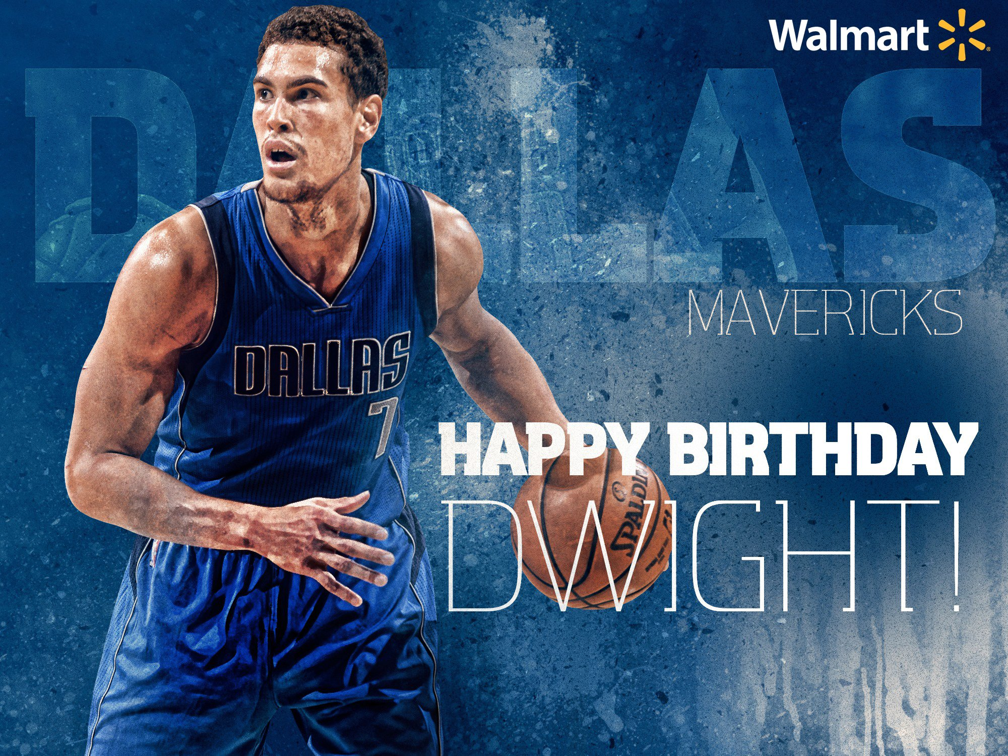 We have a very special #MavsBirthday today! Join us and @Walmart in wishing @DwightPowell33 HAPPY BIRTHDAY! ������ https://t.co/LvfcAih9x4