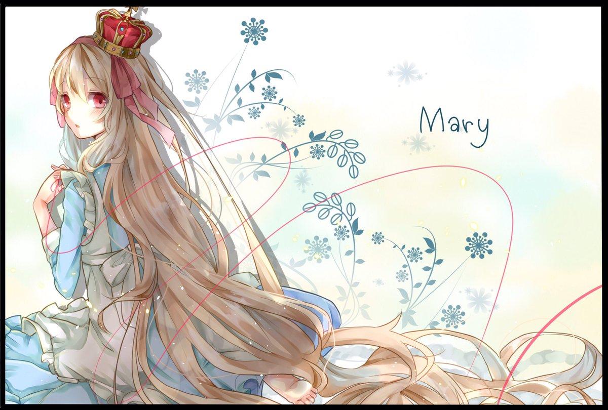 マリーお誕生日おめ🎉🎊可愛いよ大好き!!!#マリー生誕祭2017#小桜茉莉生誕祭2017#カゲロウプロジェクト #メカク