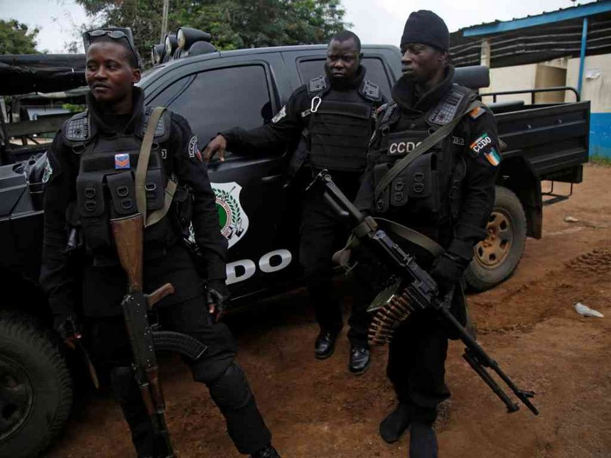 Gunmen attack elite security unit in Ivory Coast, steal arms