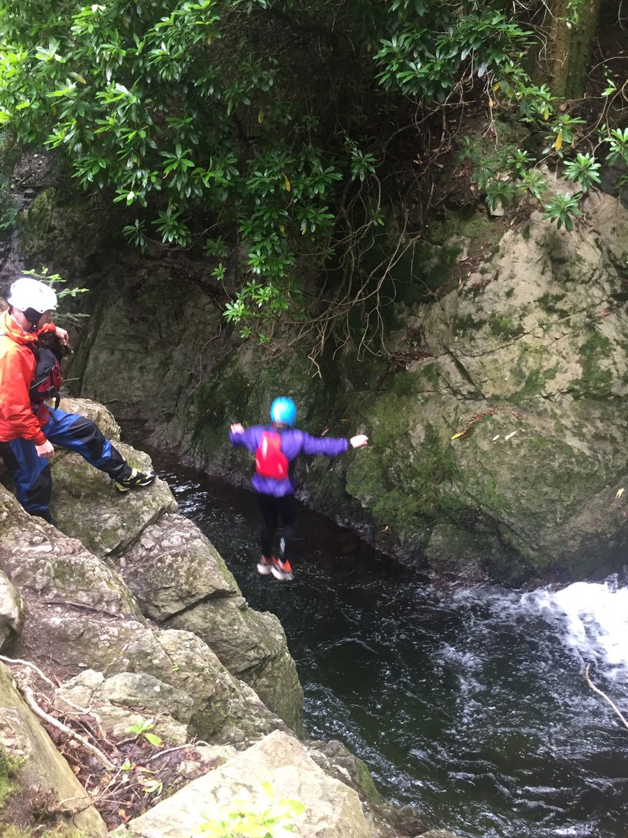 test Twitter Media - More gorge walking and plunge pool jumping. Everyone getting involved and having a great time. #patterdale17 https://t.co/KYF1kyVXLs