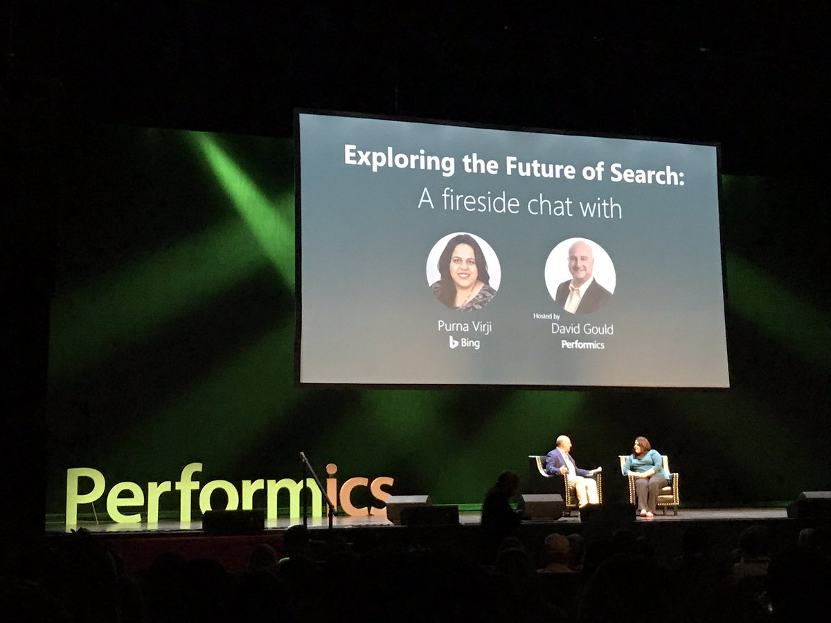 test Twitter Media - David Gould, CDO of Performics Worldwide, chats with Purna Virji of @bing on the future of search #onepfx https://t.co/XFXBvmHsbp