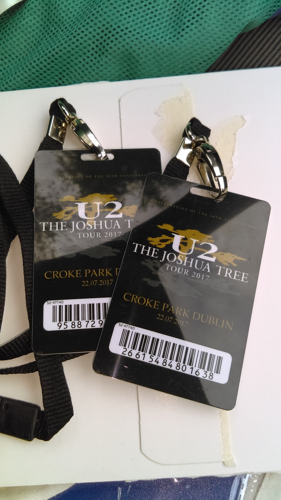 Operation Brownie Points complete. The things I do for himself 😁🤗 #U2JoshuaTreeTour2017 #lovewha https://t.co/zOQALiIfvy
