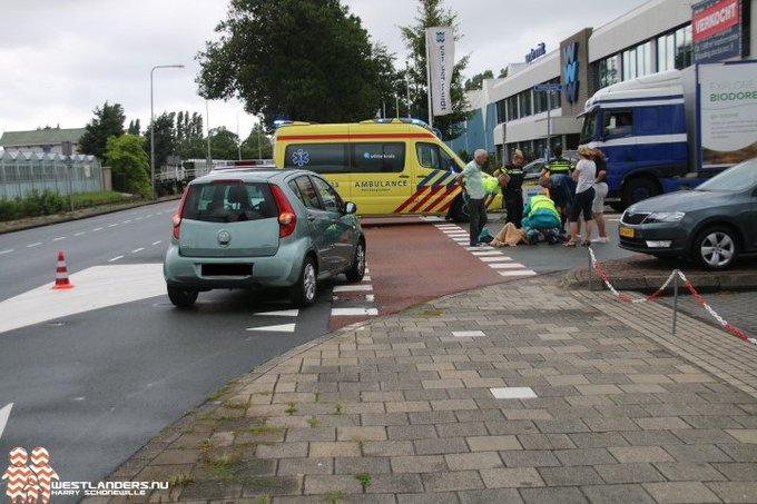 Fietsster gewond na ongeluk Veilingweg https://t.co/58TTeyRKnc https://t.co/tCEtV9VKeV