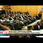Court of Appeal makes crucial ruling on ballot papers printing tender