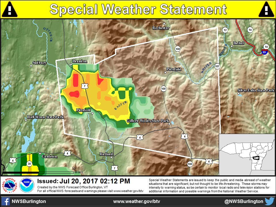 test Twitter Media - [212pm] Small hail will be possible just north of Castleton, VT for the next 20-30 mins. #vtwx https://t.co/RF9YVjMuRD