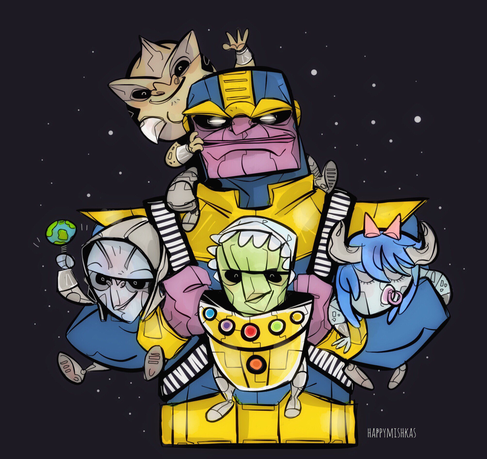 Thanos Presents Other Infinity Apparel: The Infinity Baby Bjorn by @ForestRowell https://t.co/Txy2roIMNd